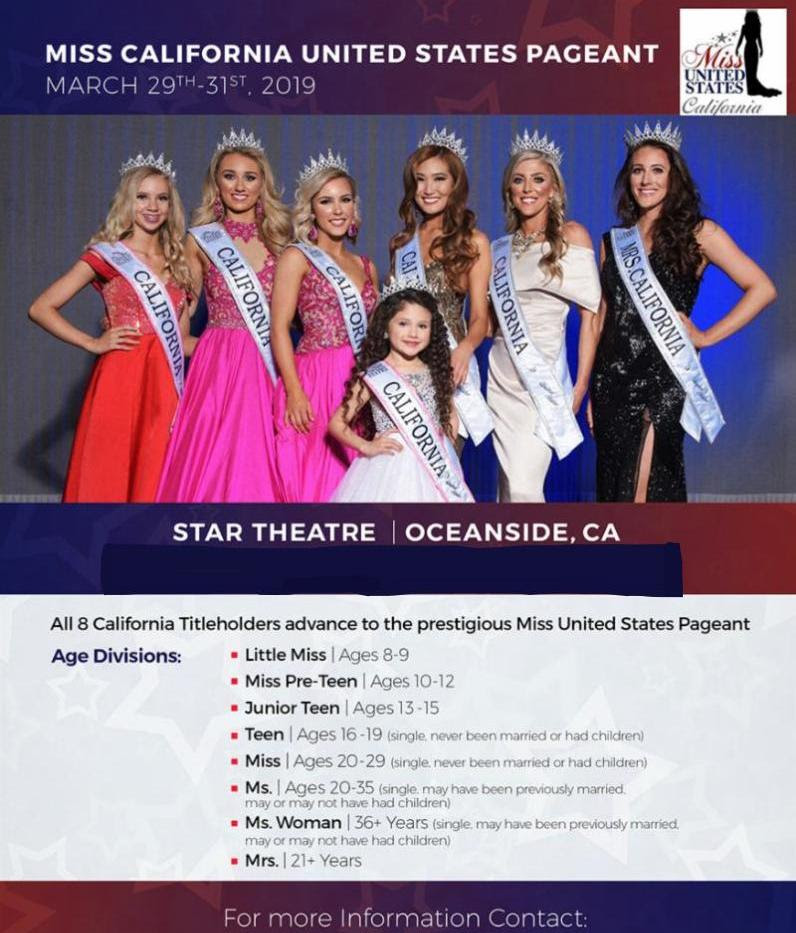 Miss California United States Pageant